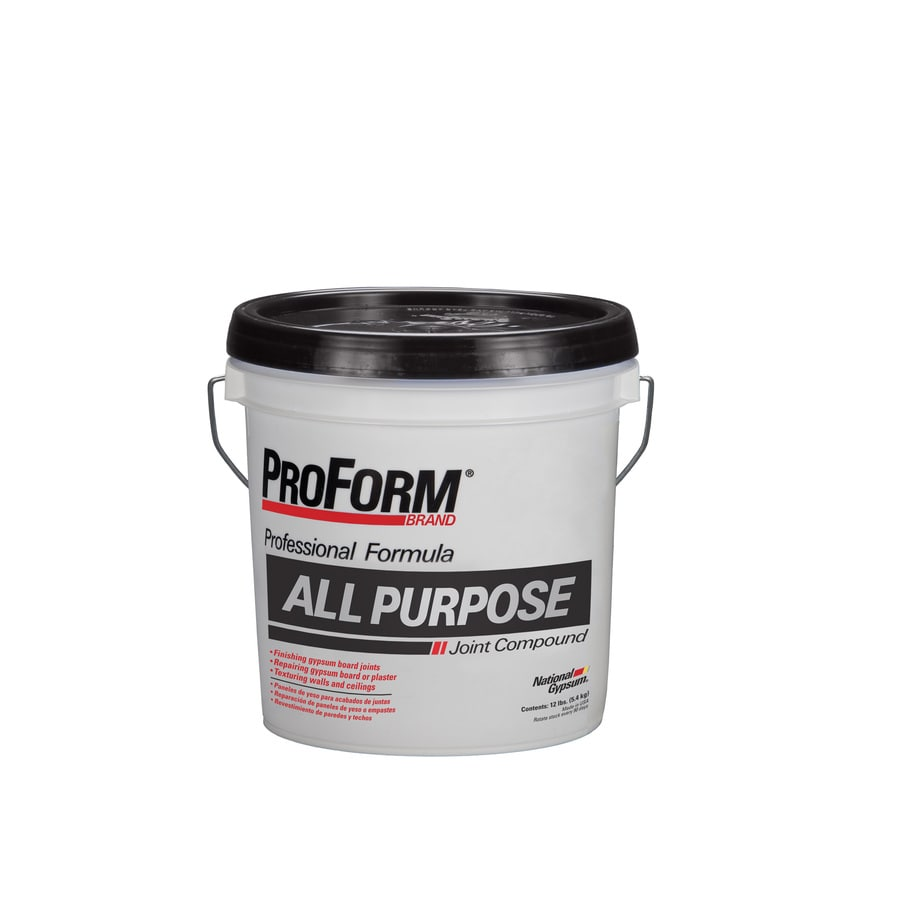 Shop proform all purpose 12 lb premixed all purpose for Bathroom joint compound