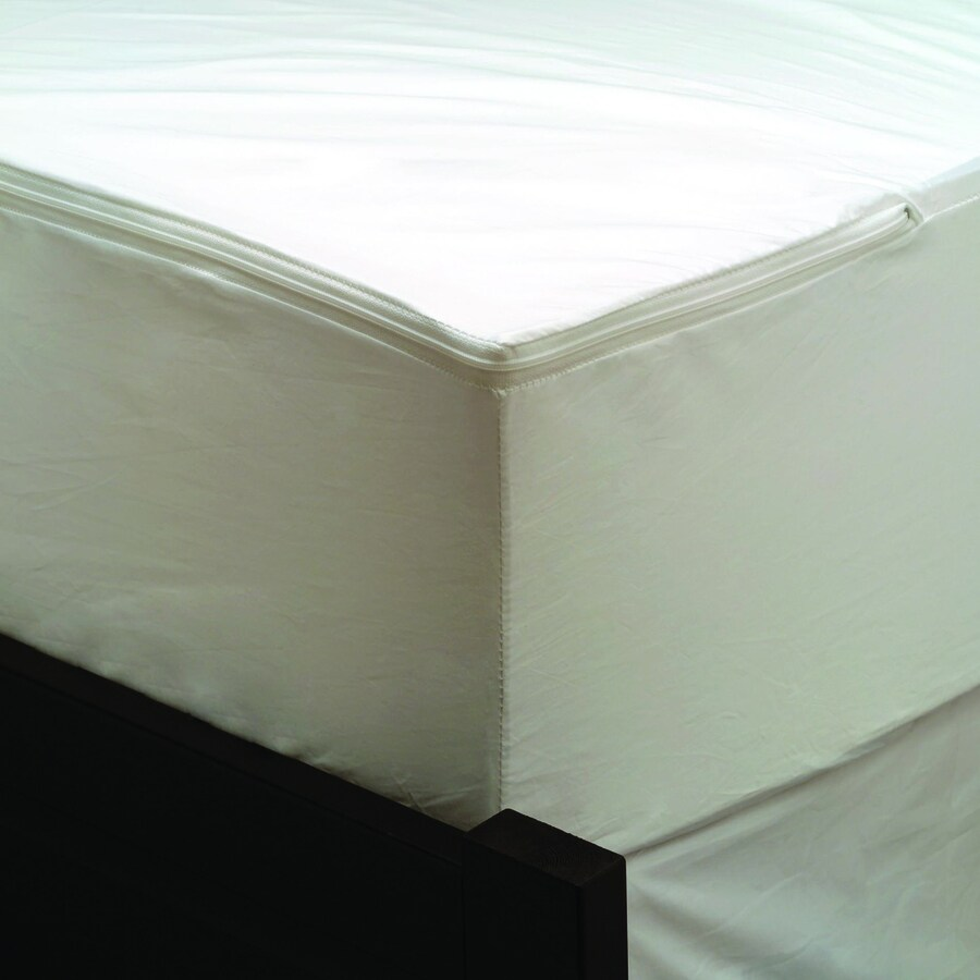 Aller-Ease Polyester Queen Hypoallergenic Mattress Or Box Spring Bed Bug Protection