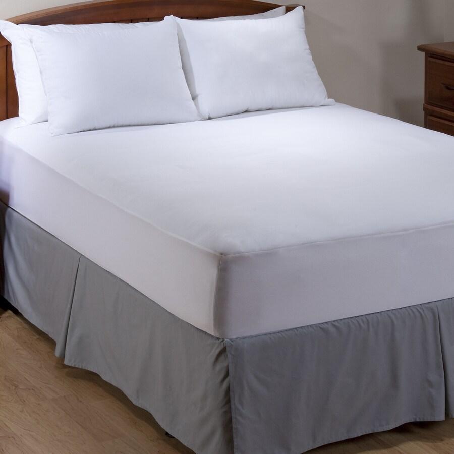 Aller-Ease White Full Mattress Cover Set