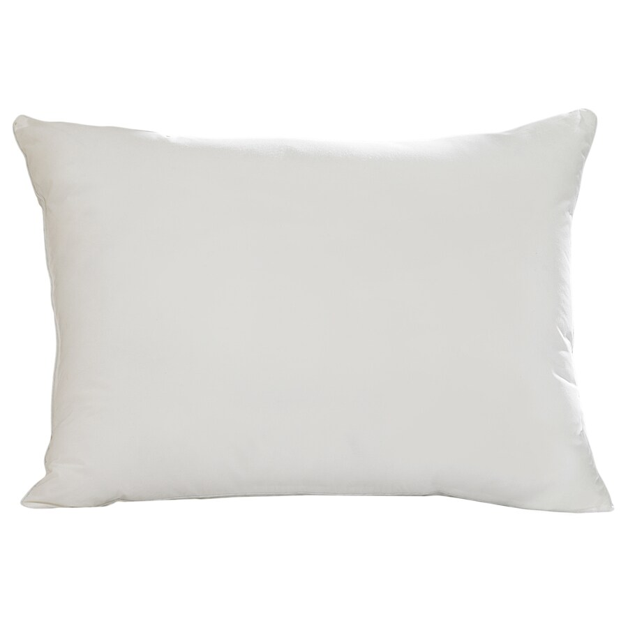 Aller-Ease 20-in W x 30-in L White Rectangular Indoor Decorative Pillow