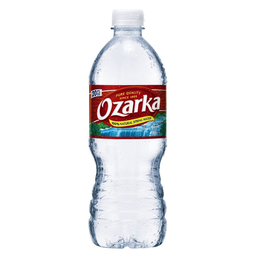 Shop Ozarka 20 Fl Oz Spring Water At Lowes Com