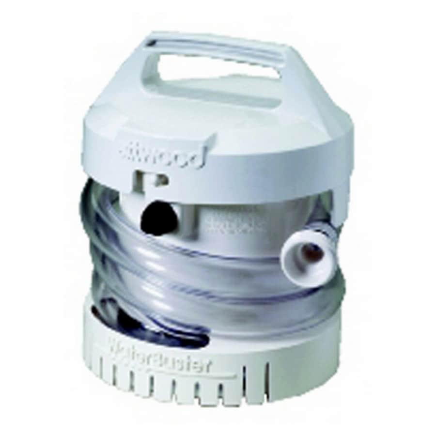 Attwood Plastic Battery-Powered Sump Pump