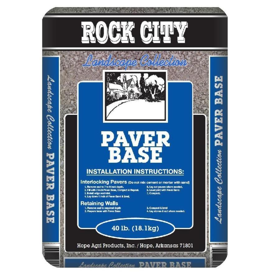 Rock City 40-lb Paver Base