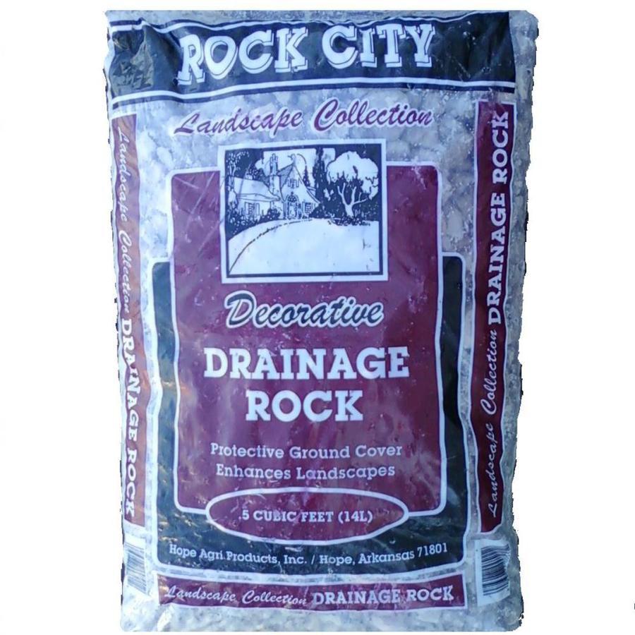 Rock City 0.5-cu ft Drainage Rock