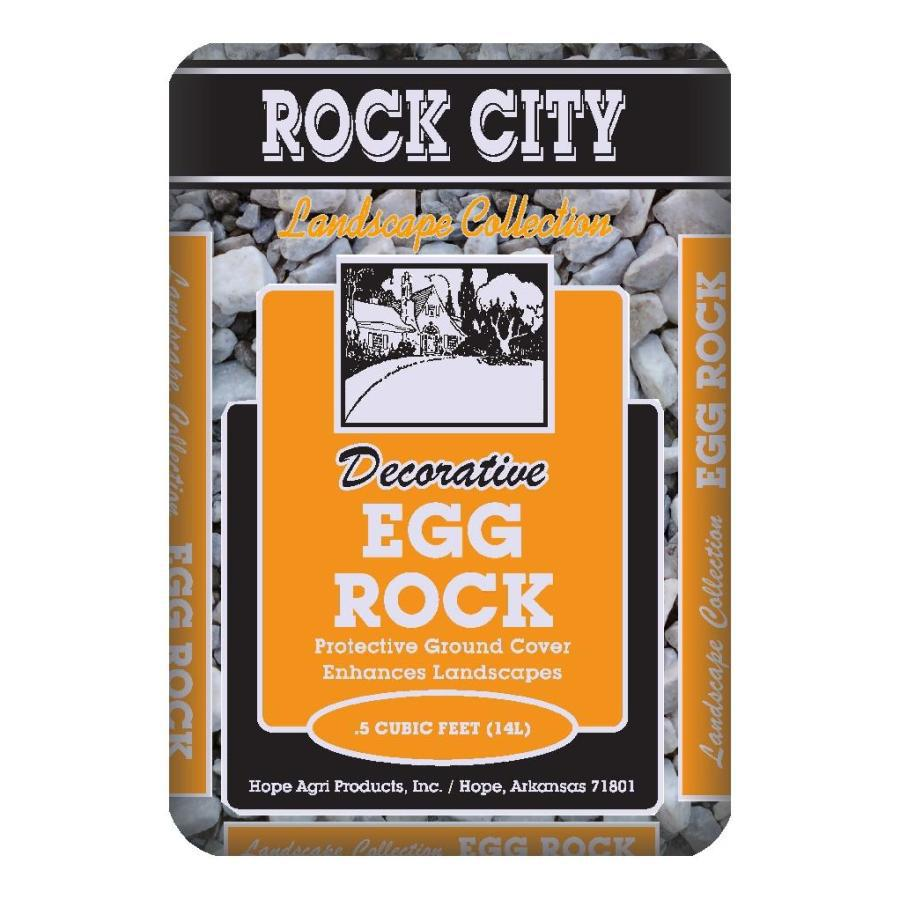 Rock City 0.5-cu ft Egg Rock