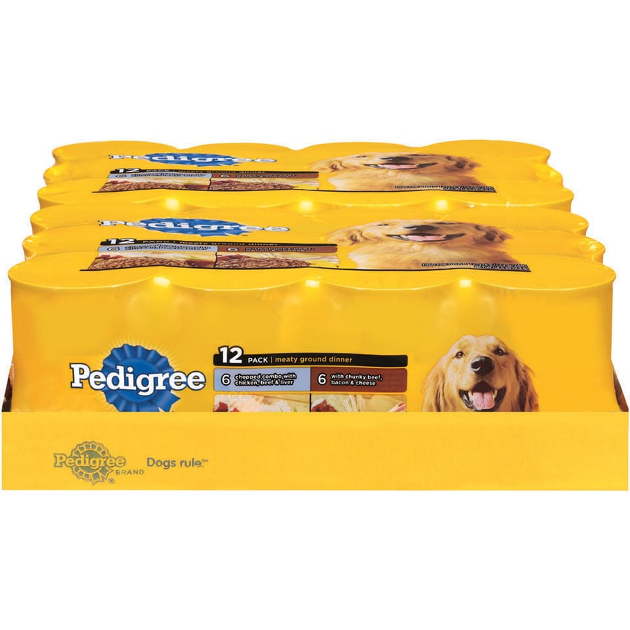 Pedigree 12-Pack 13.2-oz Adult Dog Food Variety Pack