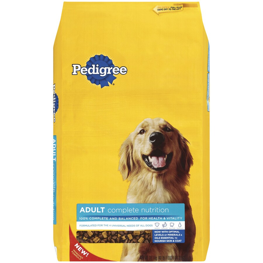 Pedigree 40-lbs Complete Nutrition Adult Dog Food