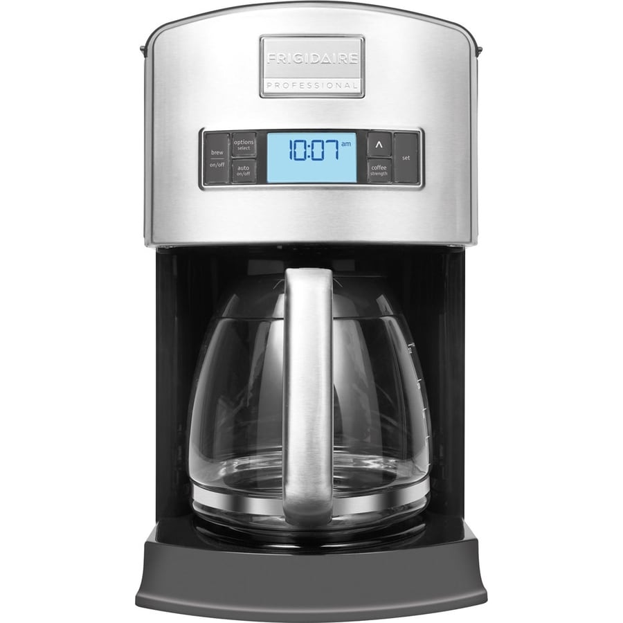 Frigidaire Stainless-Steel 12-Cup Programmable Coffee Maker