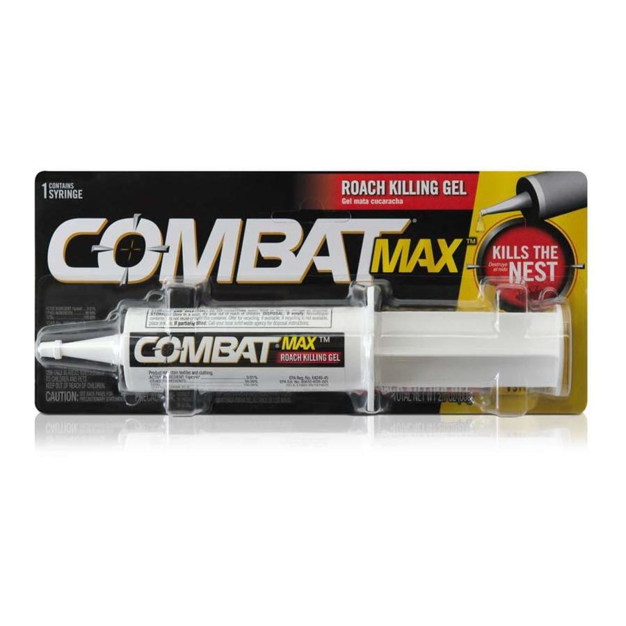 Combat Source Kill Max Advanced Formula Roach Gel Syringe