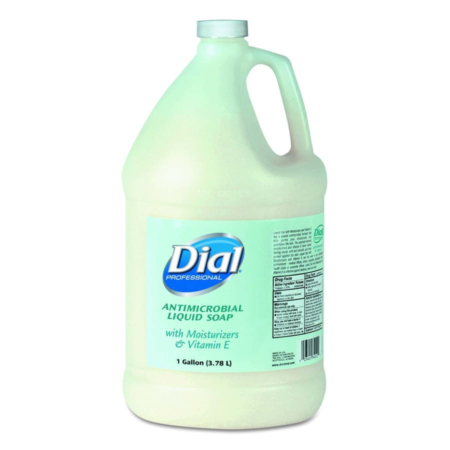 Dial 128-fl oz Antibacterial Floral/Green Hand Soap
