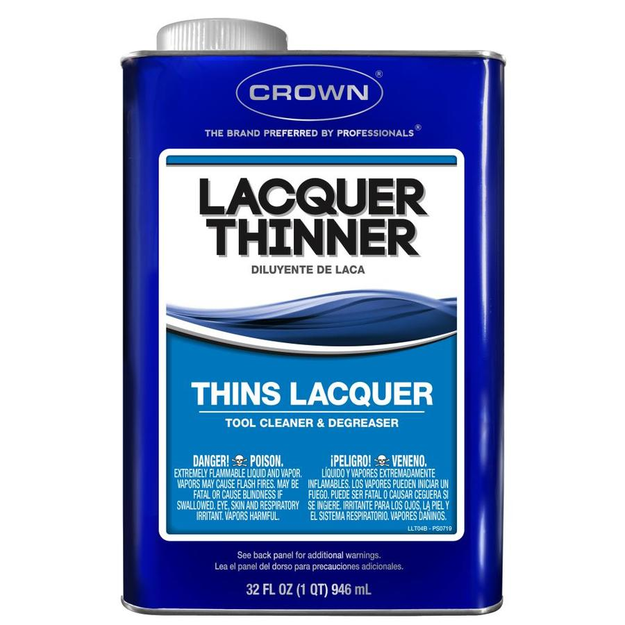 Crown 1-Quart Fast to Dissolve Lacquer Thinner