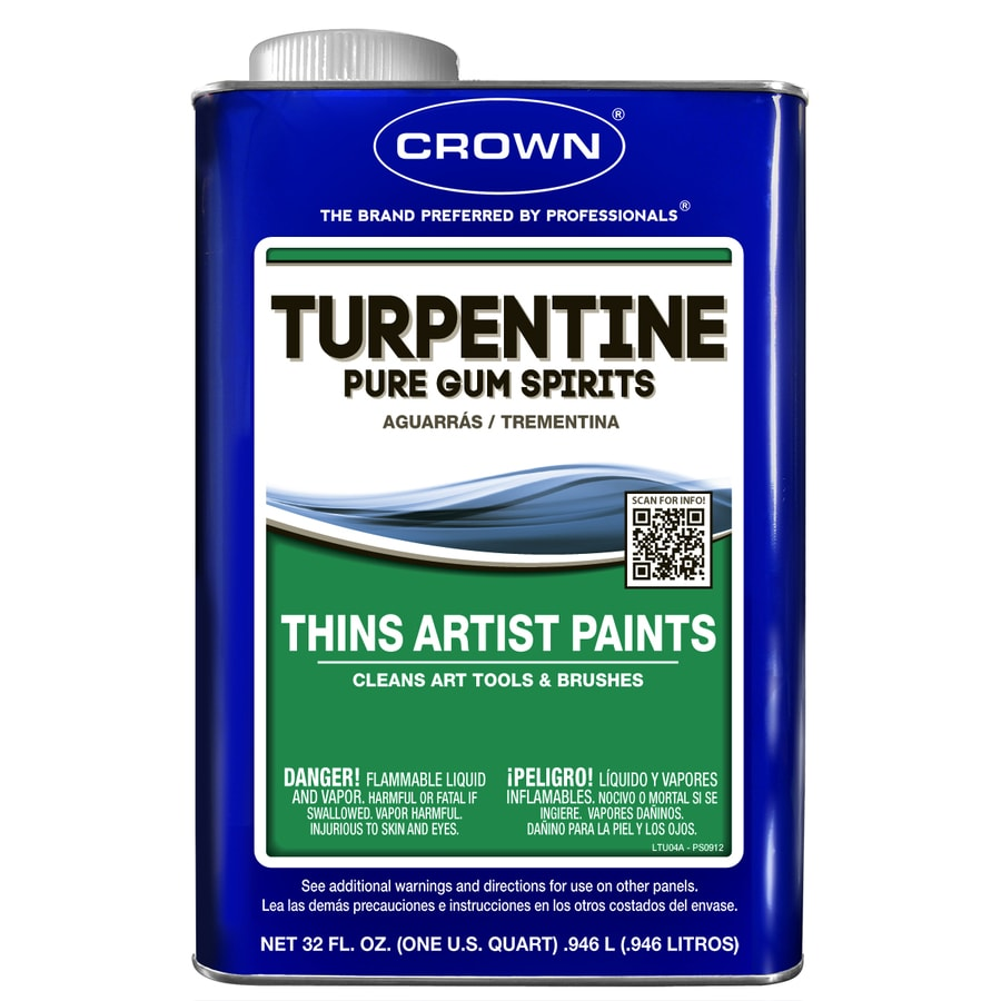Crown 1-Quart Slow to Dissolve Turpentine