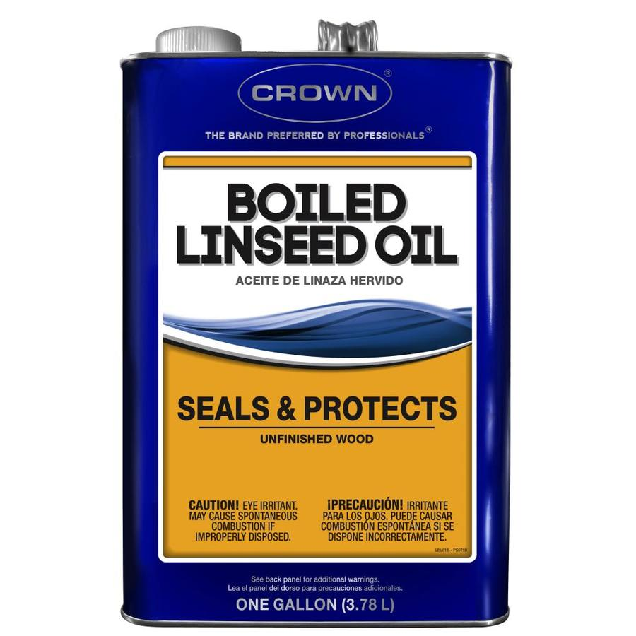 Crown 1-Gallon Slow to Dissolve Linseed Oil