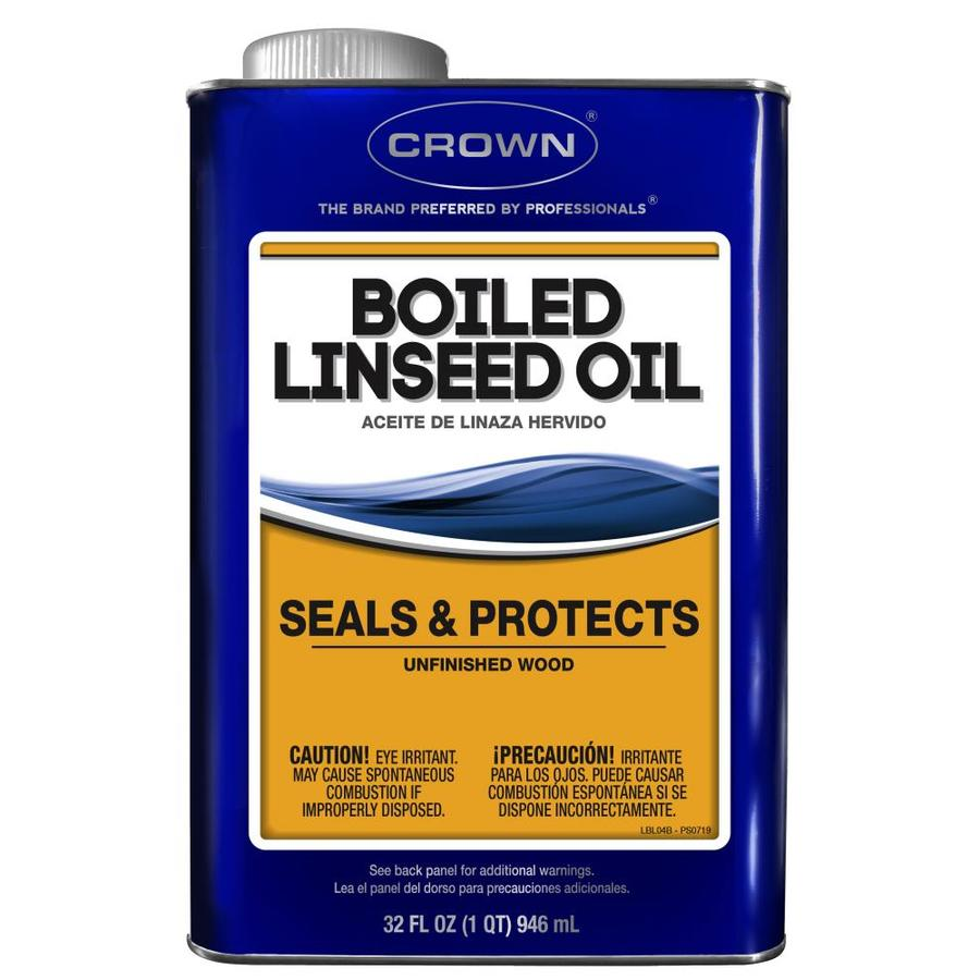 Crown 1-Quart Slow to Dissolve Linseed Oil