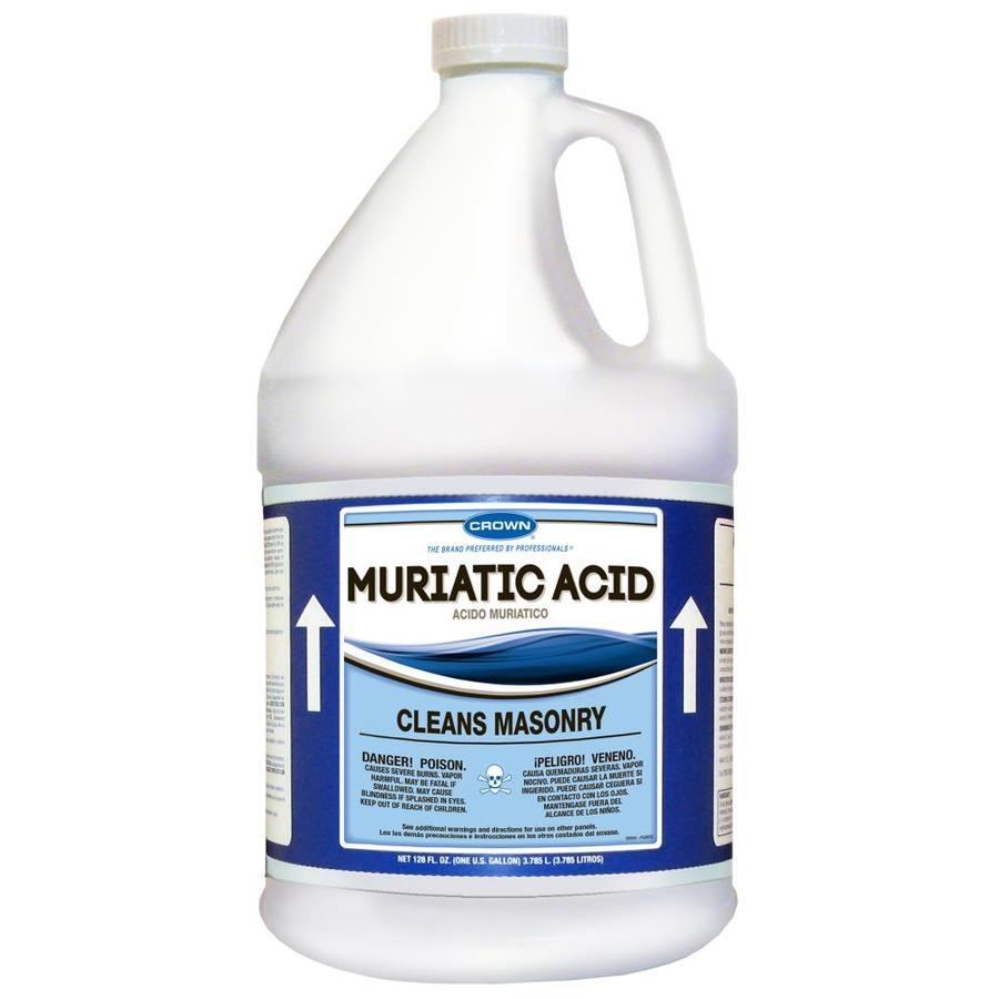 Shop Crown 1 Gallon Muriatic Acid At