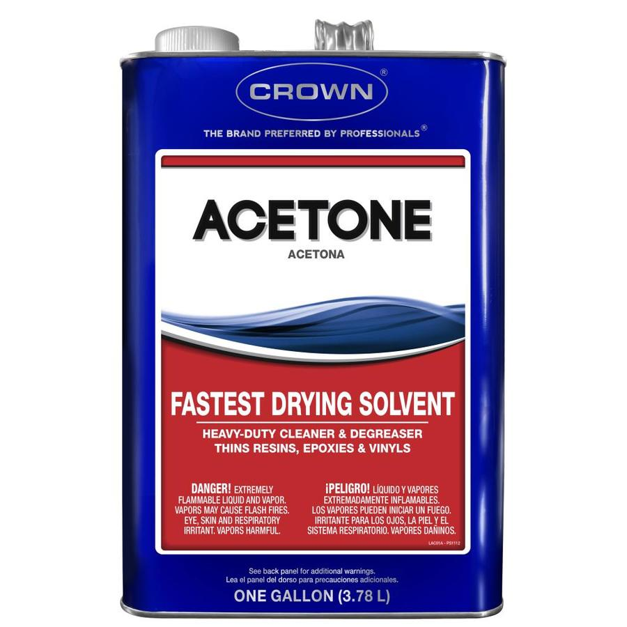 Crown 1-Gallon Fast to Dissolve Acetone
