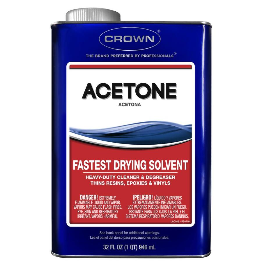 Crown 1-Quart Fast to Dissolve Acetone