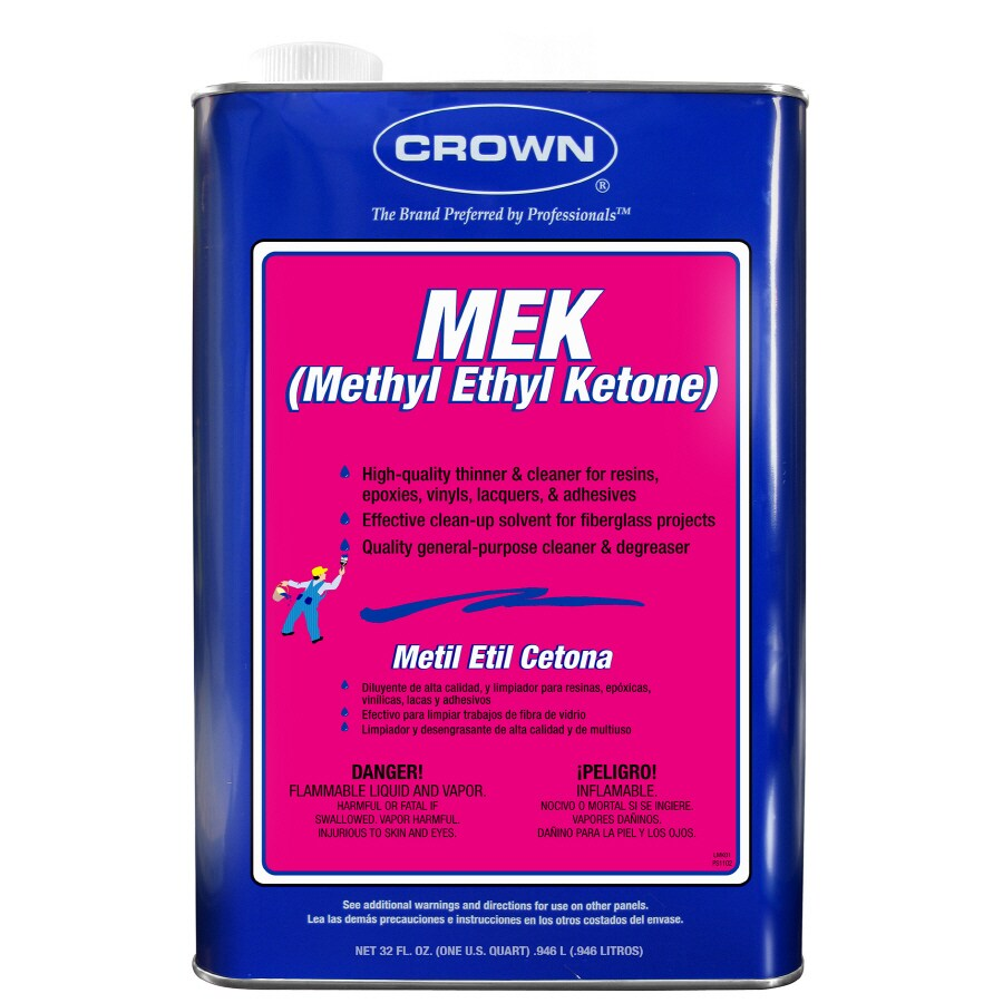 Crown 1-Quart Fast to Dissolve Methyl Ethyl Ketone