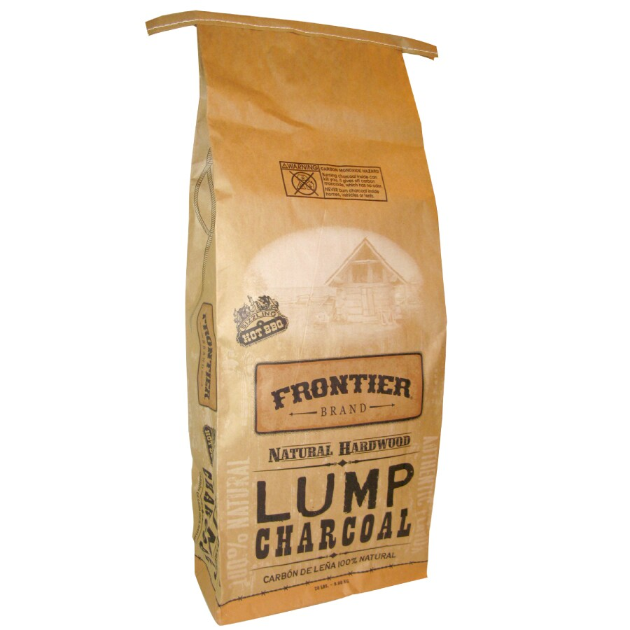 Frontier 20-lb Lump Charcoal