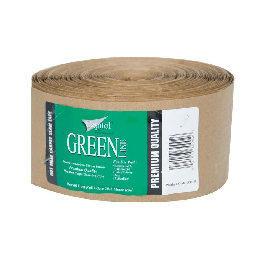 Capitol Green Line 3.62-in x 66-ft Clear Hot Melt Seam Tape