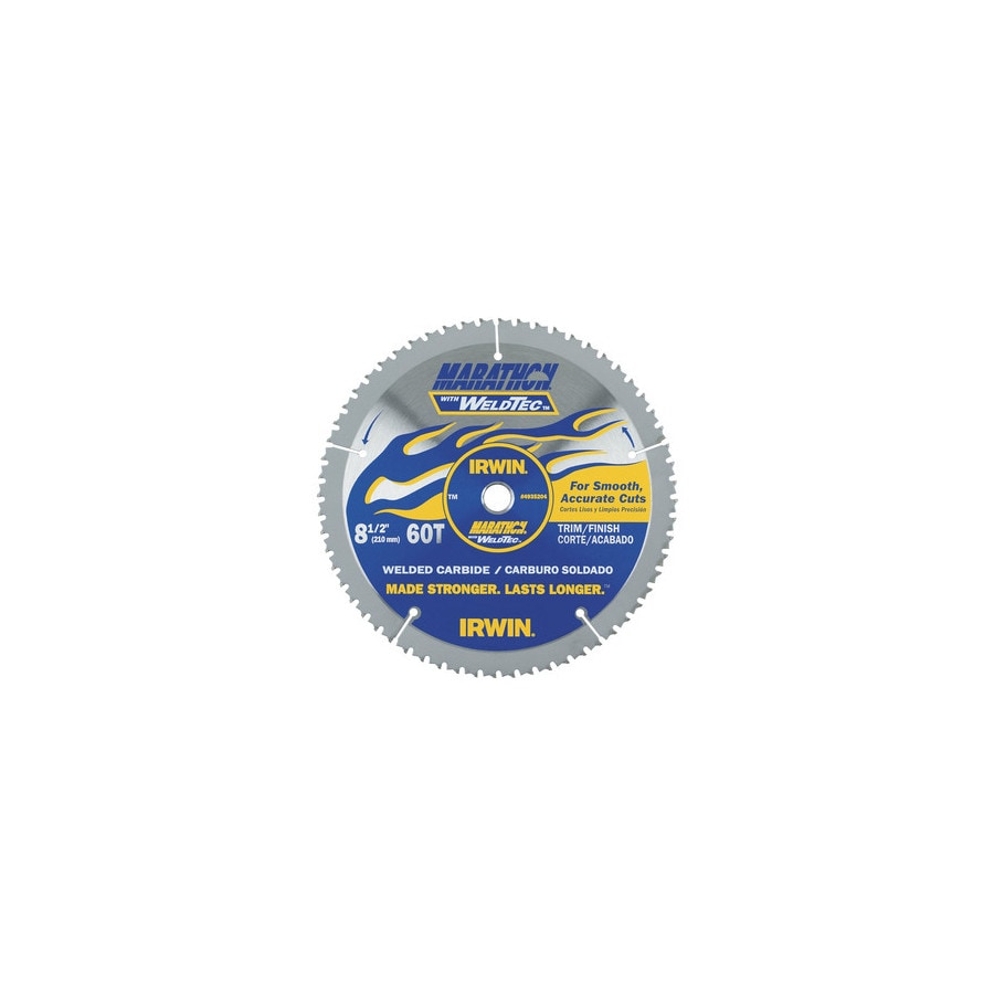 IRWIN Marathon with Weldtec 8-1/2-in Circular Saw Blade