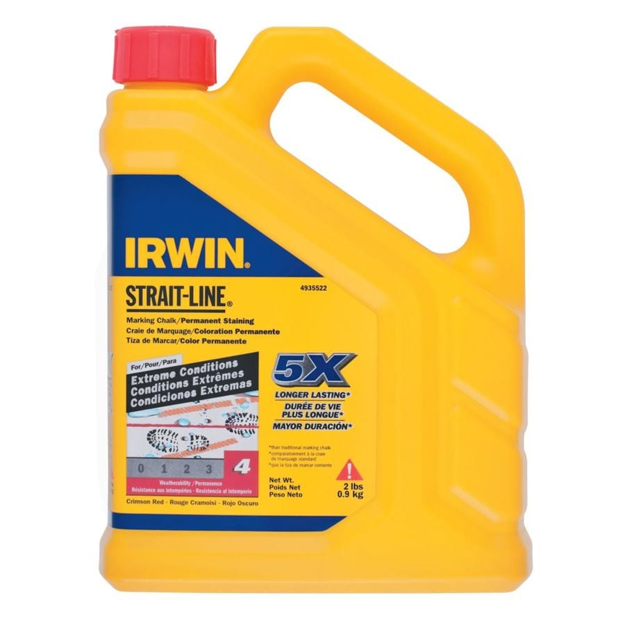 IRWIN 2-lb Red Permanent Staining Chalk
