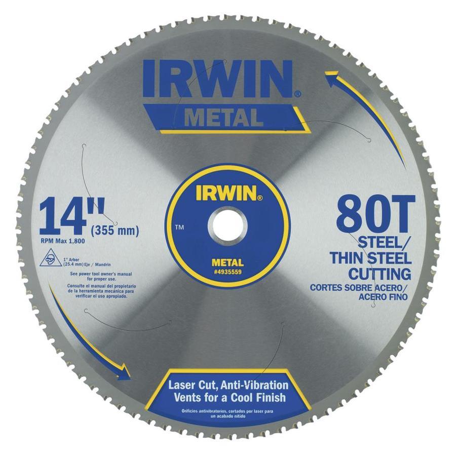 IRWIN 14-in 80-Tooth Segmented Carbide Circular Saw Blade