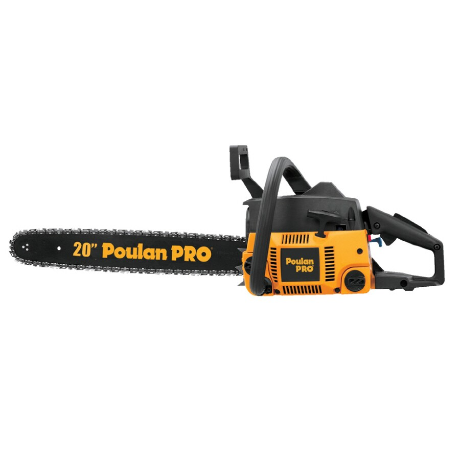 Poulan Pro 46cc 2-Cycle 20-in Gas Chain Saw