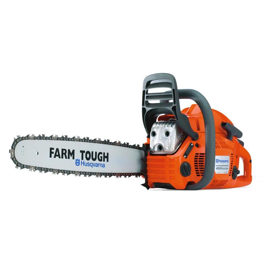 Husqvarna 455 20-in Bar 55.5CC 2-Cycle 20-in Gas Chainsaw