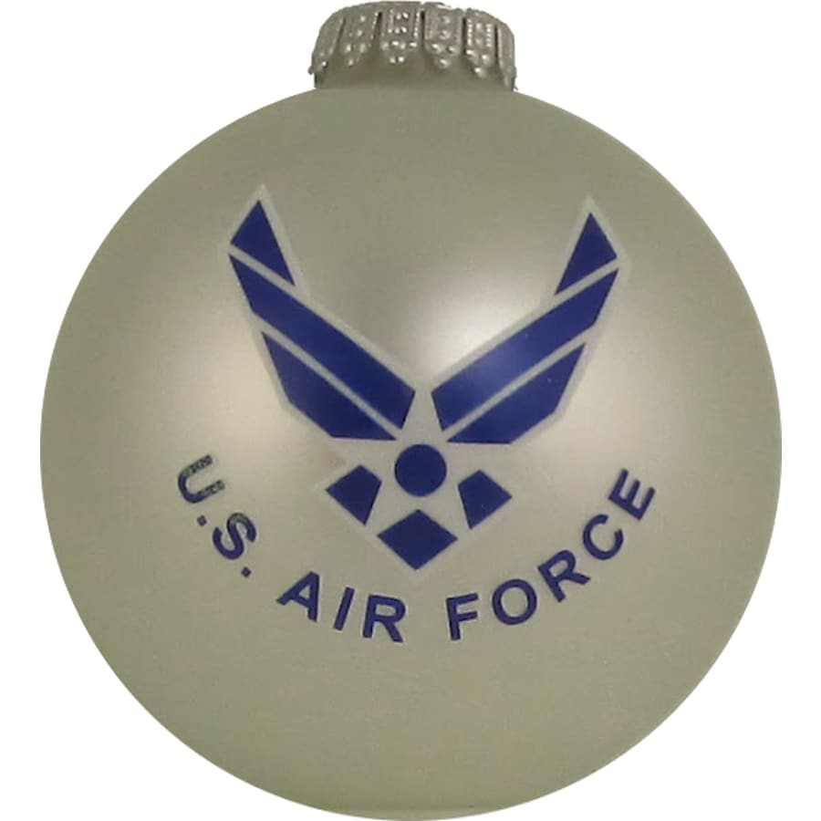 Silver Shiny Air Force Ornament