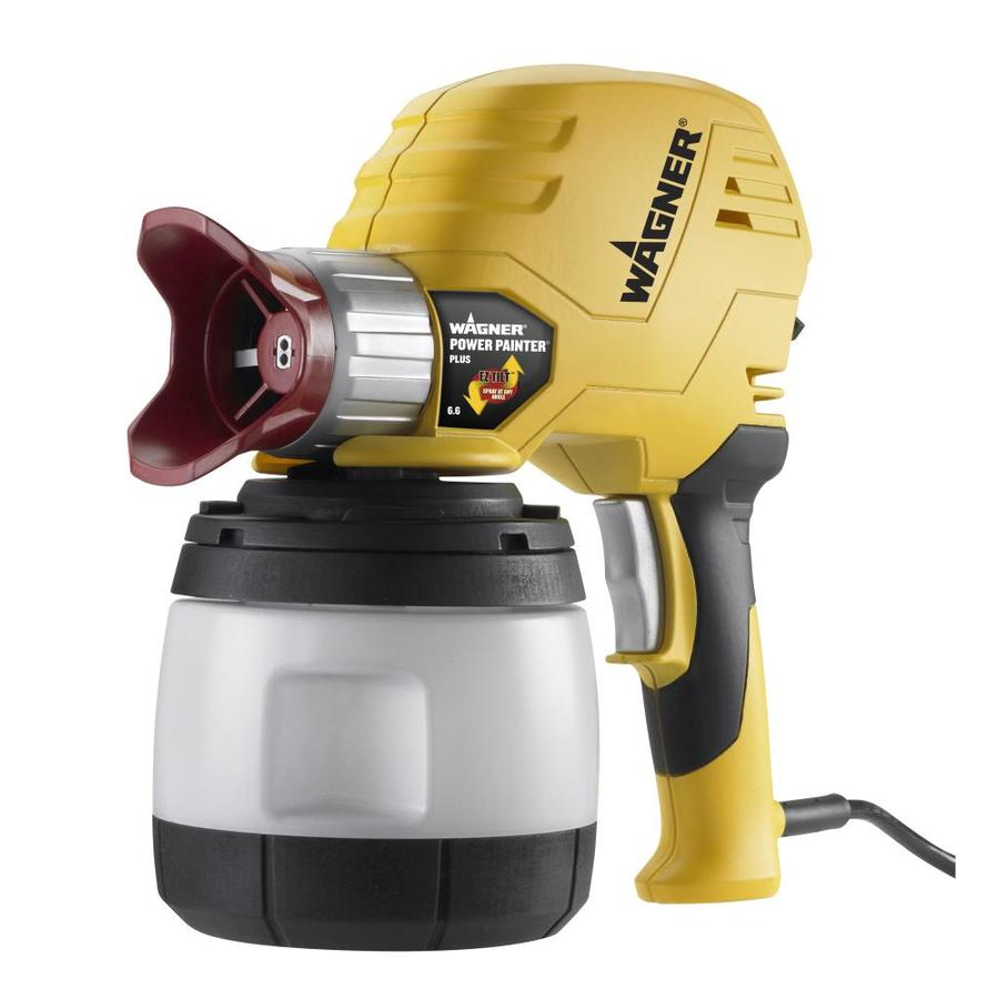 Wagner Power Painter Plus with EZ Tilt Cup Fed Electric Handheld Airless Paint Sprayer