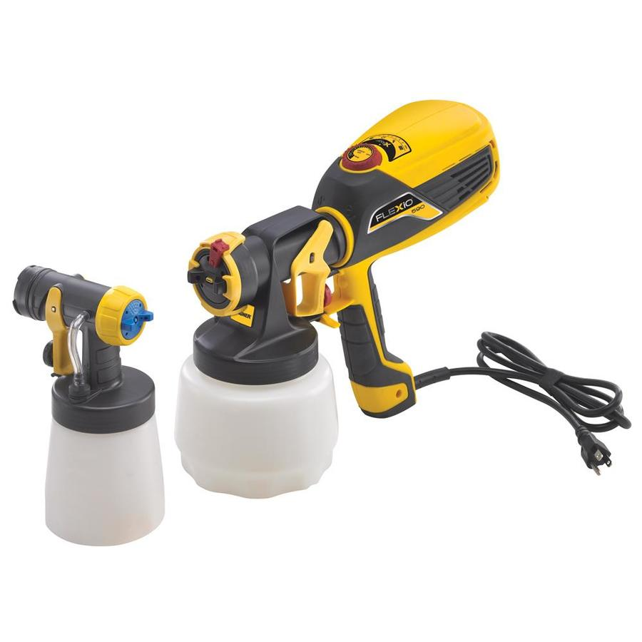 Wagner Flexio 590 Kit Cup Fed 6-PSI Handheld High-Volume Low-Pressure Paint Sprayer