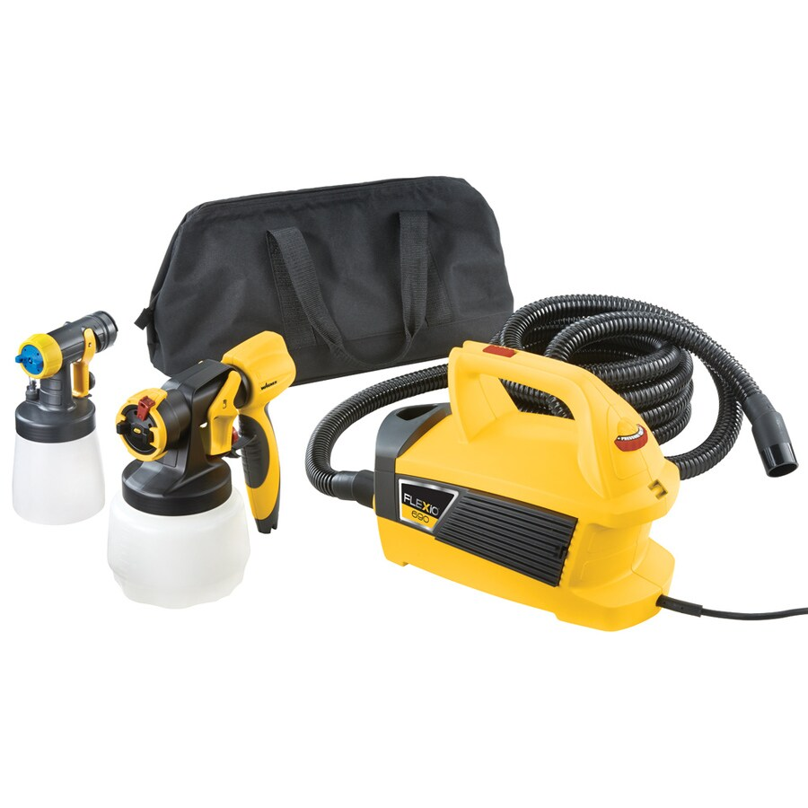 Wagner Flexio 690 Cup Fed 3-PSI Stationary High-Volume Low-Pressure Paint Sprayer