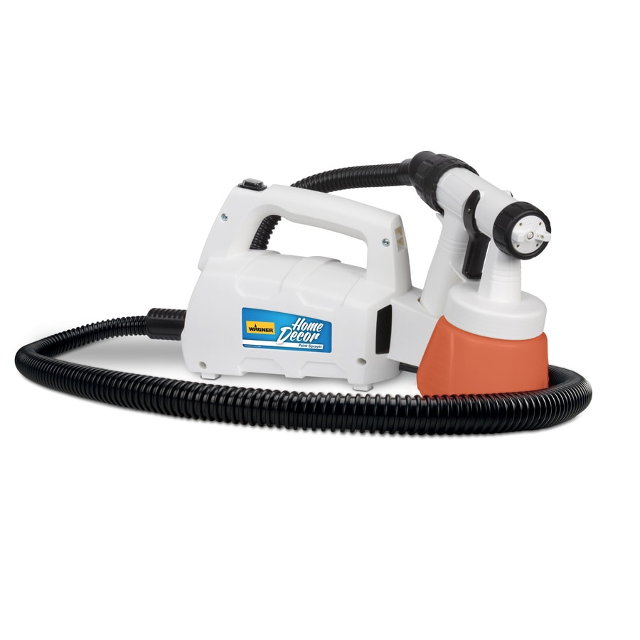 Wagner Home Decor Cup Fed 2.5-PSI Stationary High-Volume Low-Pressure Paint Sprayer