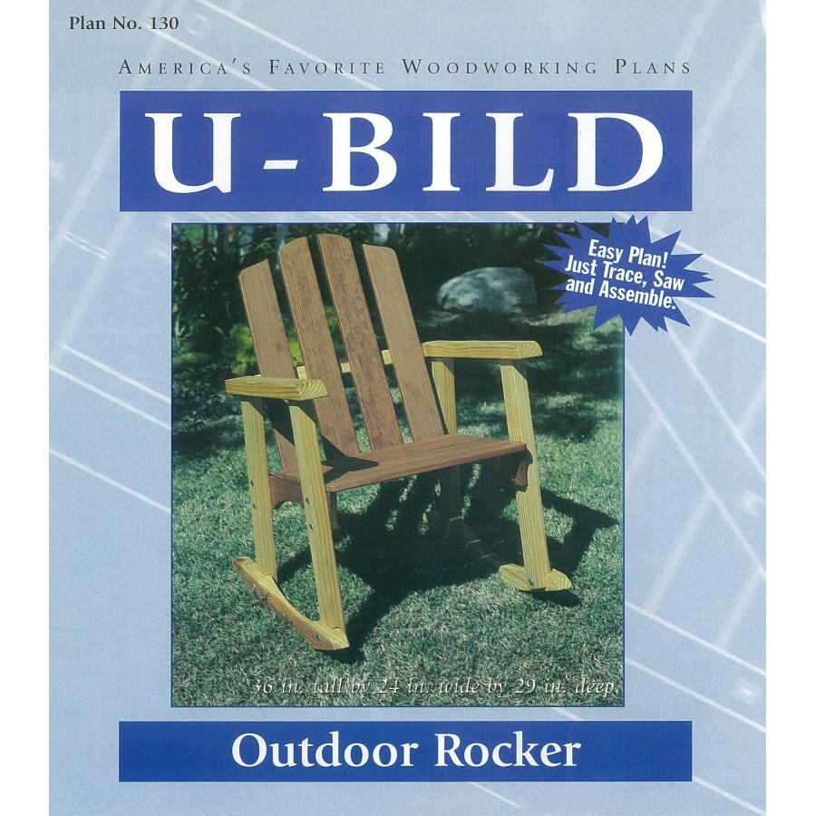 U-Bild Outdoor Rocker Woodworking Plan
