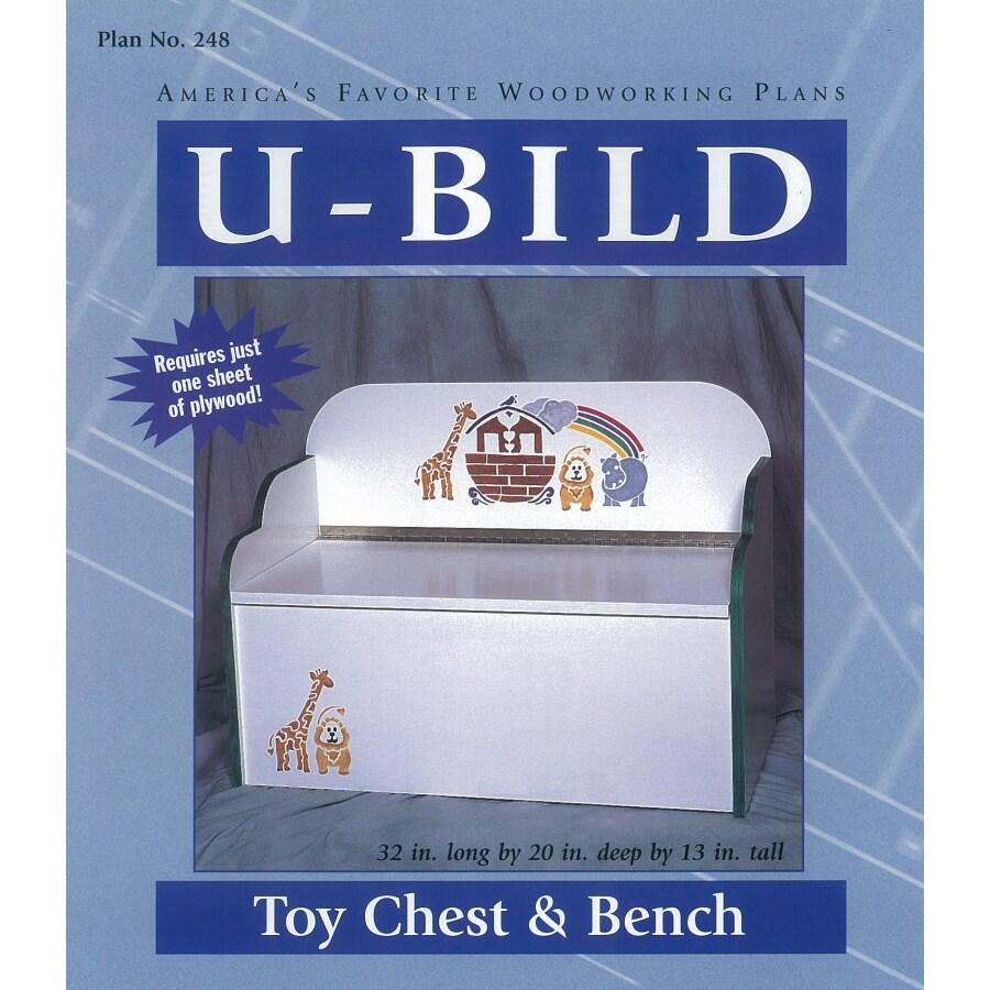 U-Bild Toy Chest and Bench Woodworking Plan