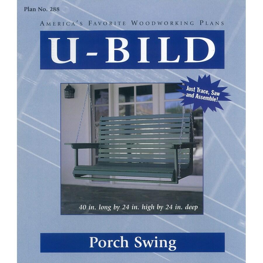 U-Bild Porch Swing Woodworking Plan