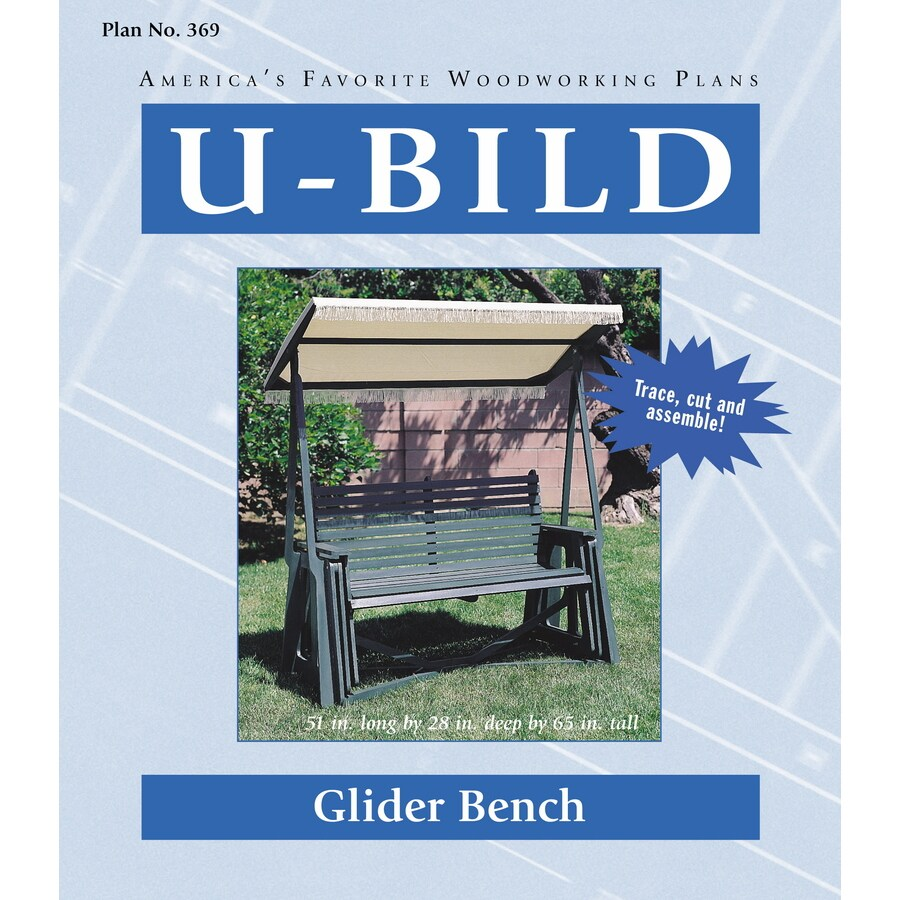U-Bild Glider Bench Woodworking Plan