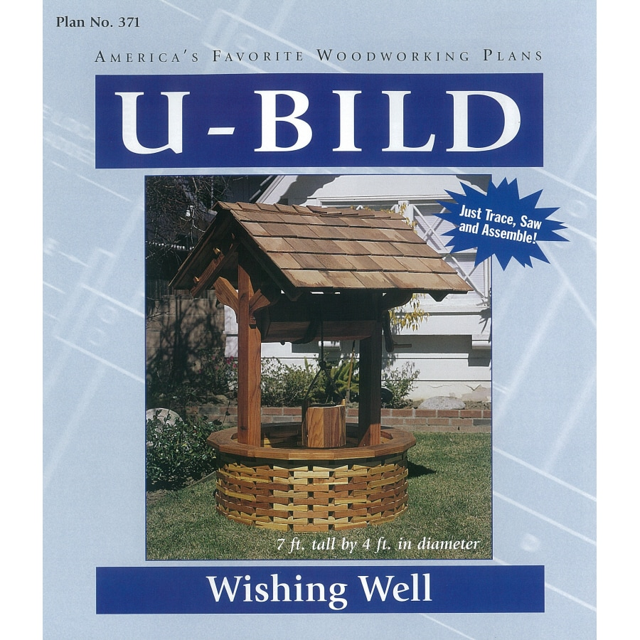 Shop U-Bild Wishing Well Woodworking Plan at Lowes.com