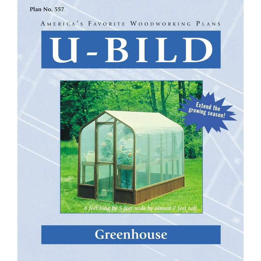 U-Bild Greenhouse Woodworking Plan