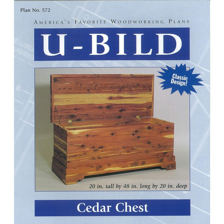Shop U Bild Cedar Chest Woodworking Plan At