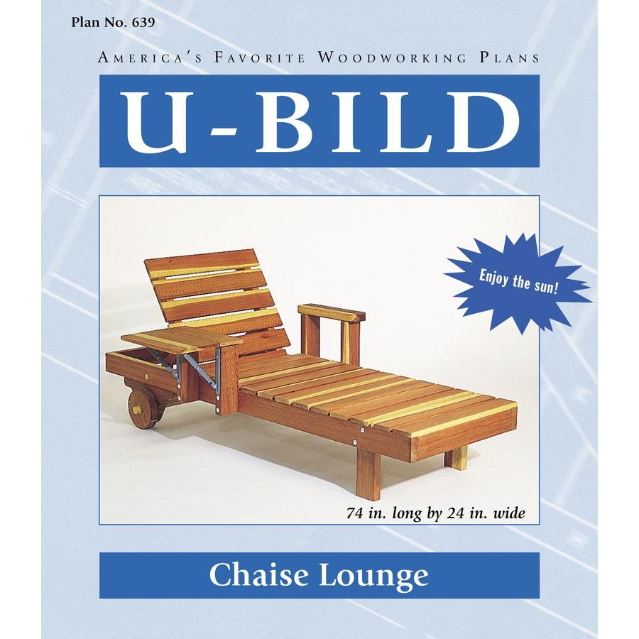 U-Bild Chaise Lounge Woodworking Plan