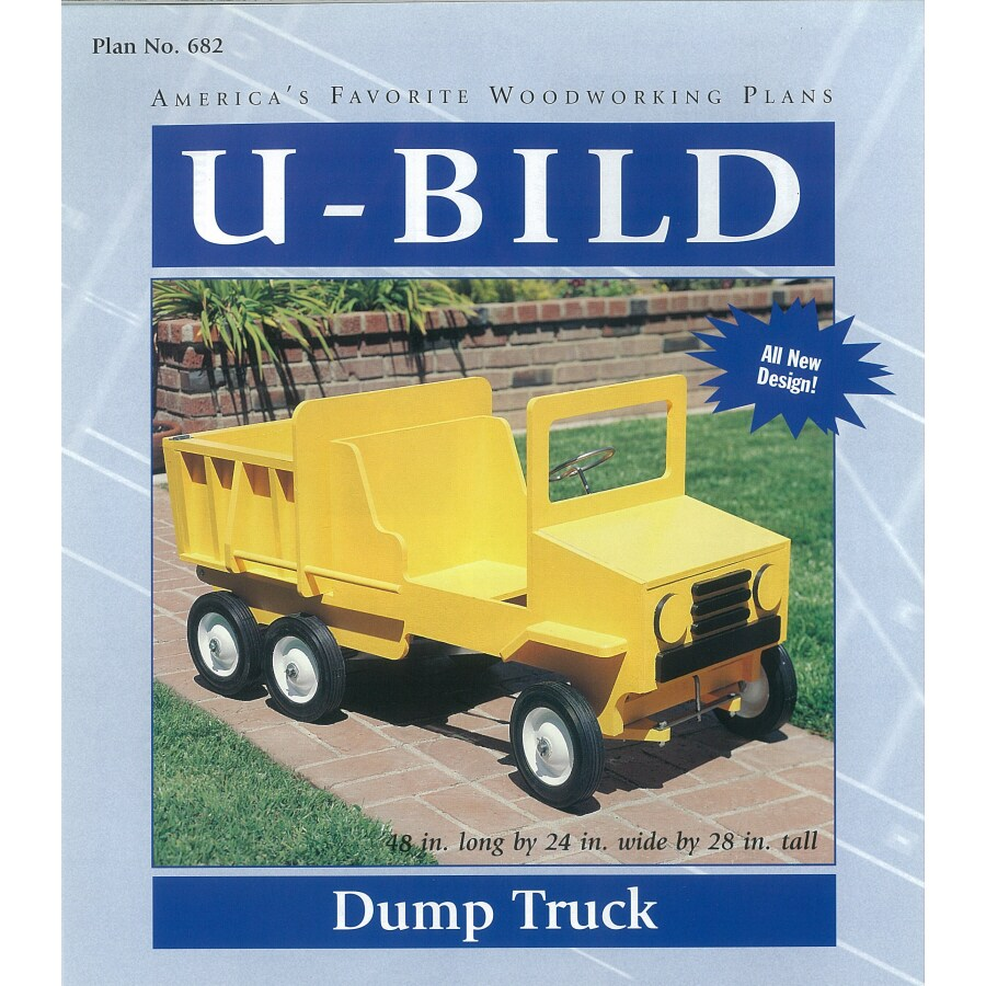U-Bild Dump Truck Woodworking Plan