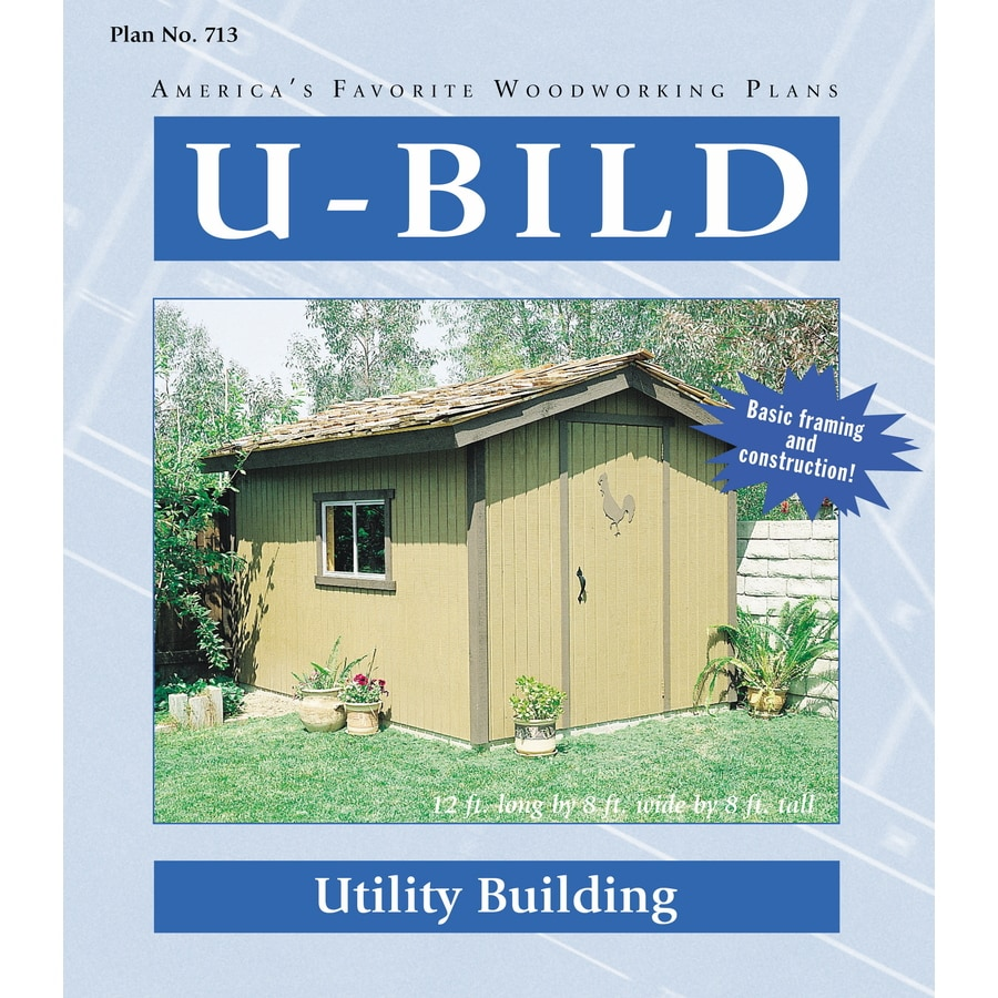 U-Bild Utility Building Woodworking Plan
