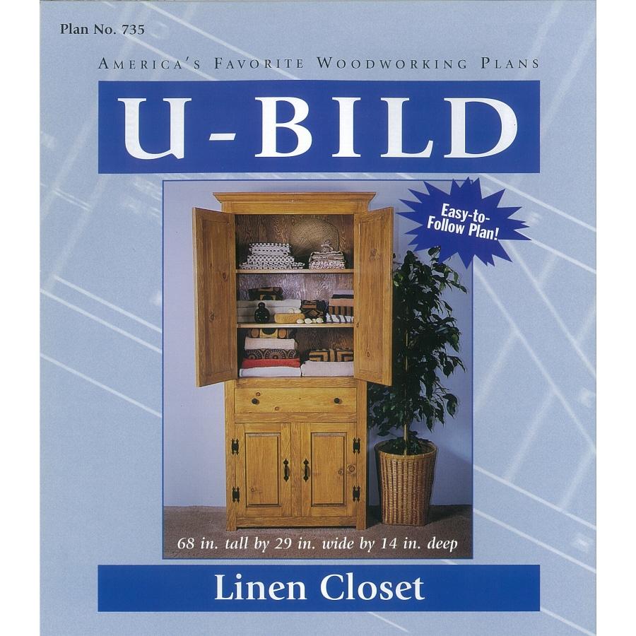 U-Bild Linen Closet Woodworking Plan