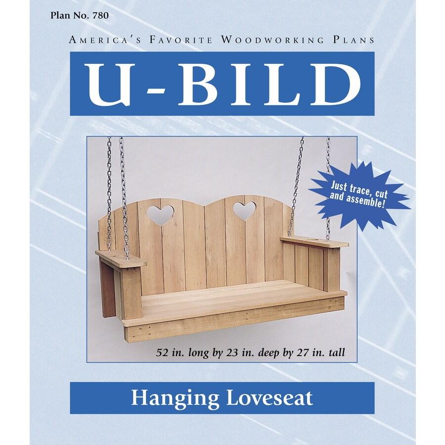 U-Bild Hanging Loveseat Woodworking Plan