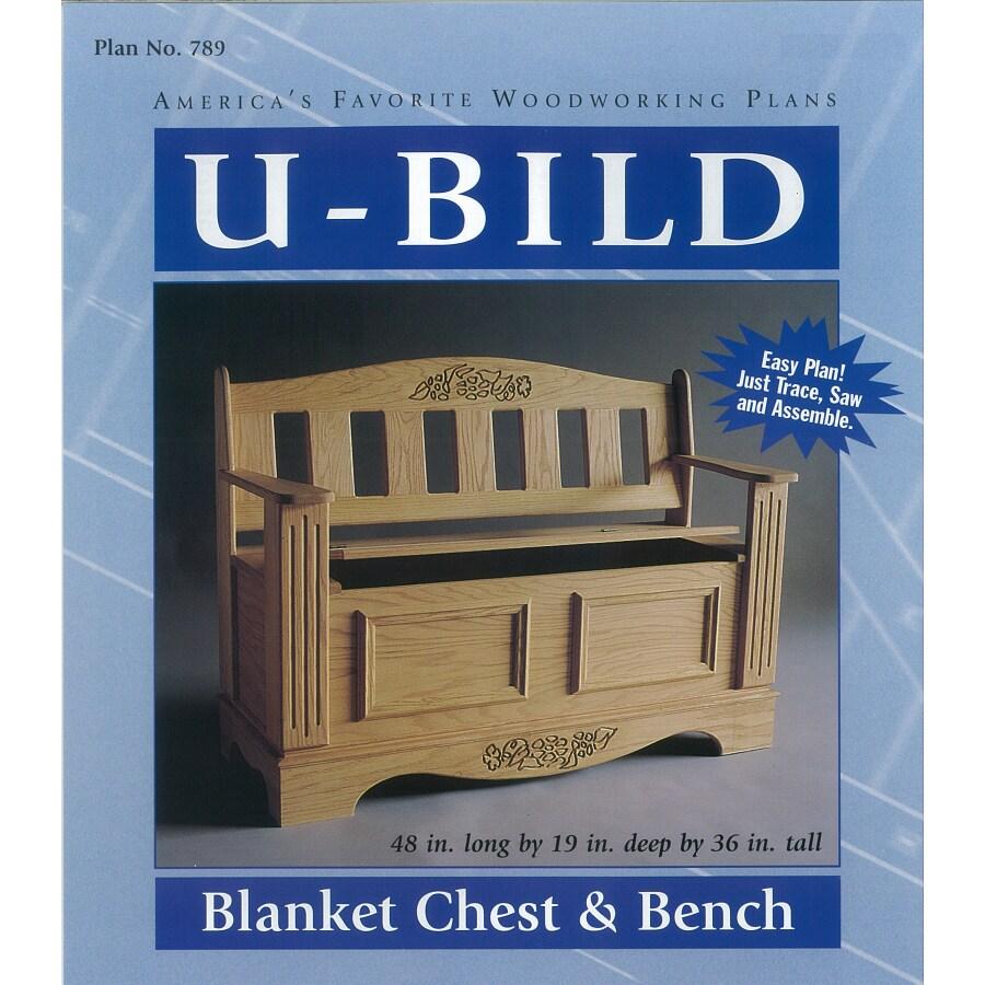 U-Bild Blanket Chest and Bench Woodworking Plan
