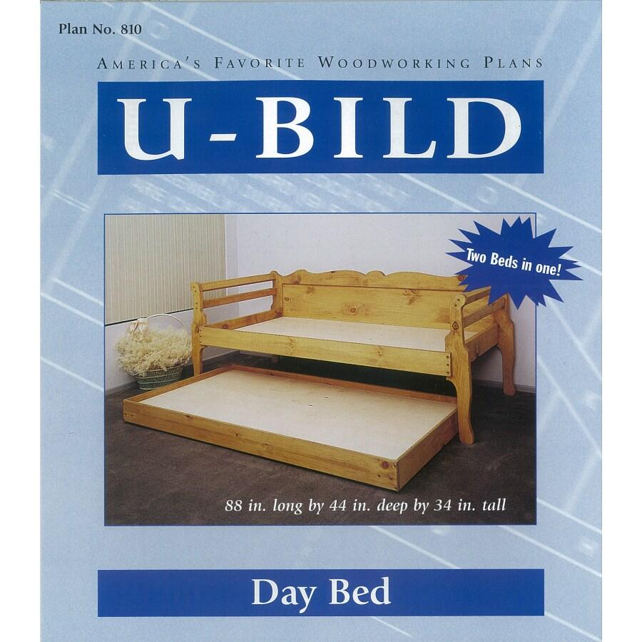 U-Bild Day Bed Woodworking Plan