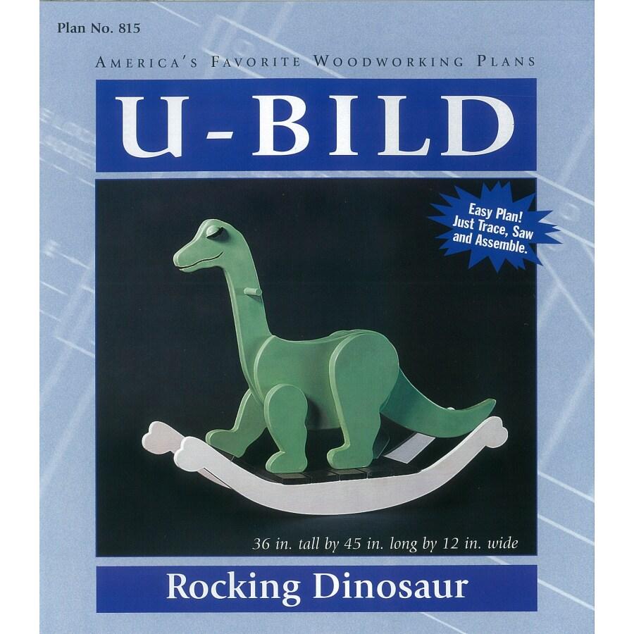 U-Bild Rocking Dinosaur Woodworking Plan