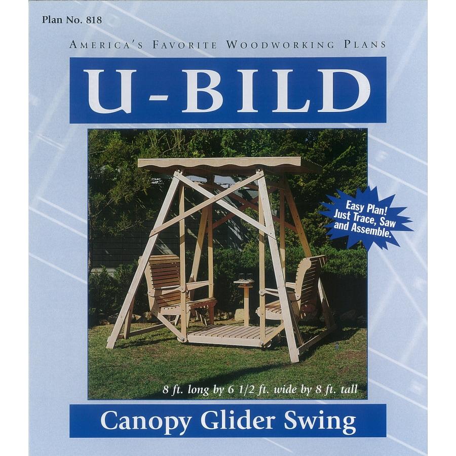 U-Bild Canopy Glider Swing Woodworking Plan